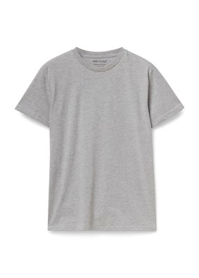 Organic Cotton T-shirt-Gri
